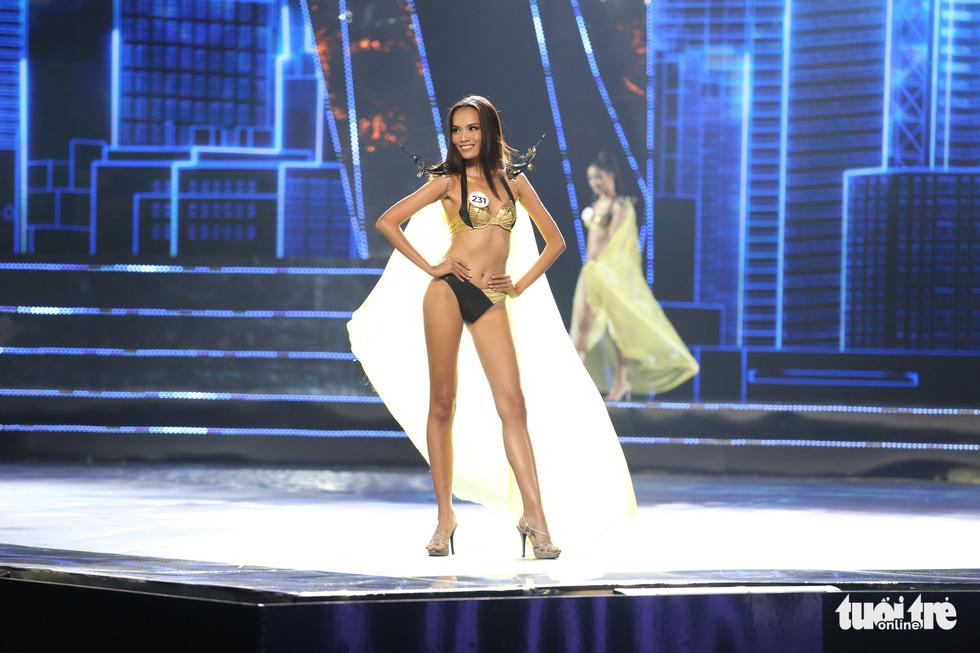 Trình diễn bikini của Top 15 Hoa hậu Hoàn vũ Việt Nam 2019 - Ảnh 5.