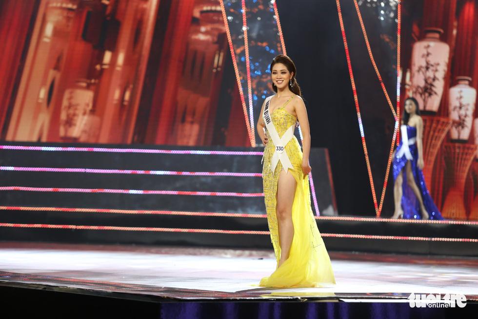 Hoa hậu Hoàn vũ Việt Nam 2019 gọi tên cô gái TP.HCM Nguyễn Trần Khánh Vân - Ảnh 13.