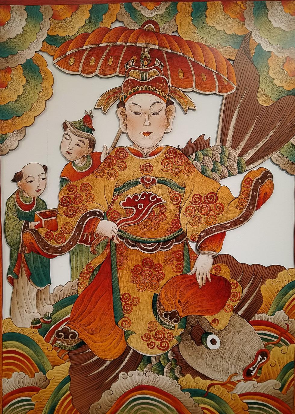 Ngắm Bà Trưng, Bà Triệu, tố nữ mắt to tròn, mặt V-line trong tranh Xuân Lam - Ảnh 8.