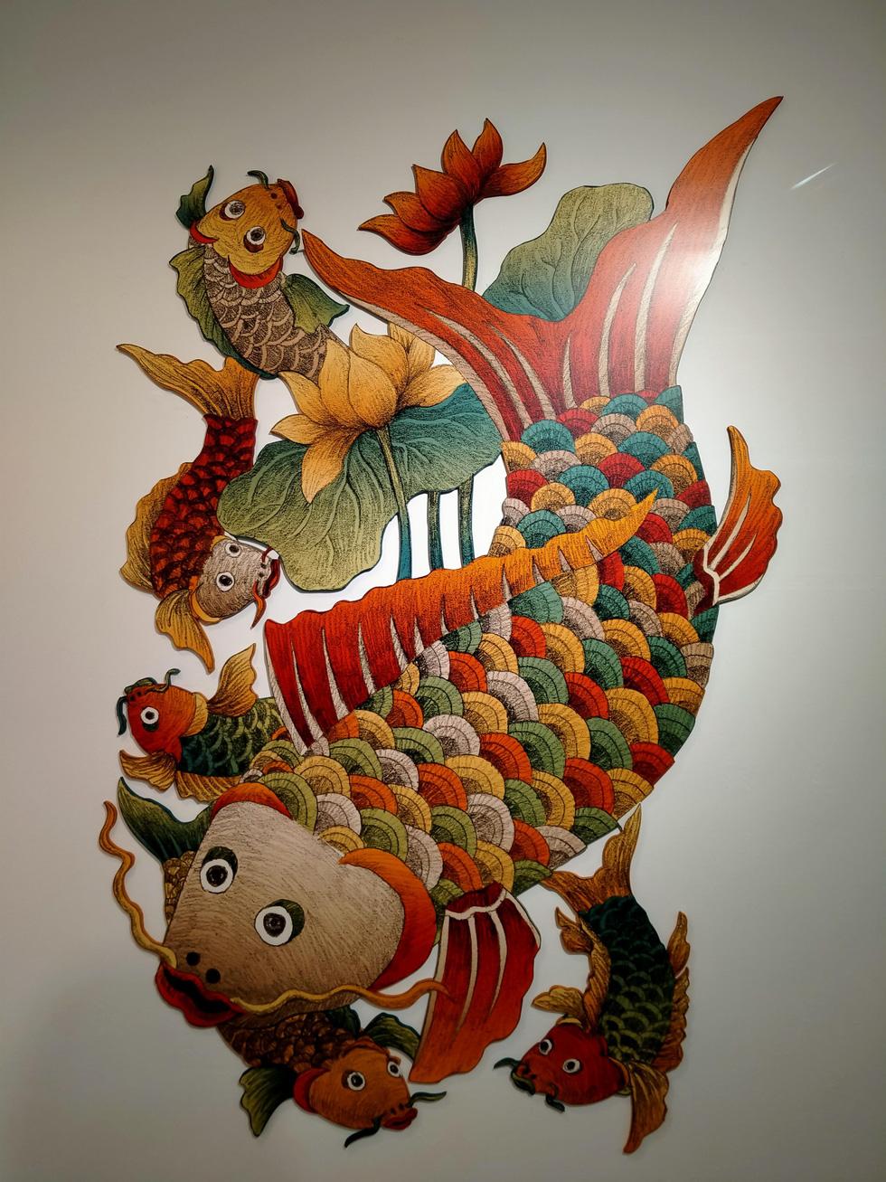 Ngắm Bà Trưng, Bà Triệu, tố nữ mắt to tròn, mặt V-line trong tranh Xuân Lam - Ảnh 16.