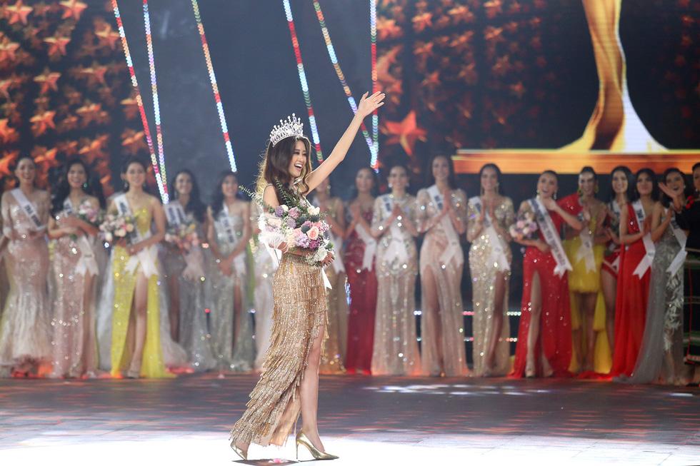 Cận cảnh nhan sắc tân Hoa hậu Hoàn vũ Việt Nam Nguyễn Trần Khánh Vân - Ảnh 15.