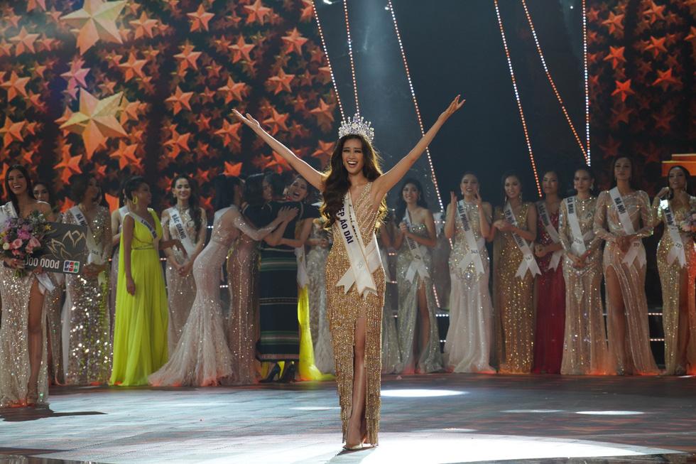 Tân Hoa hậu Hoàn vũ Việt Nam 2019 và hành trình chinh phục vương miện - Ảnh 1.