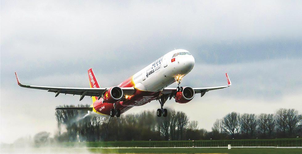Vietjet dự định tăng 44% đường bay quốc tế - Ảnh 1.