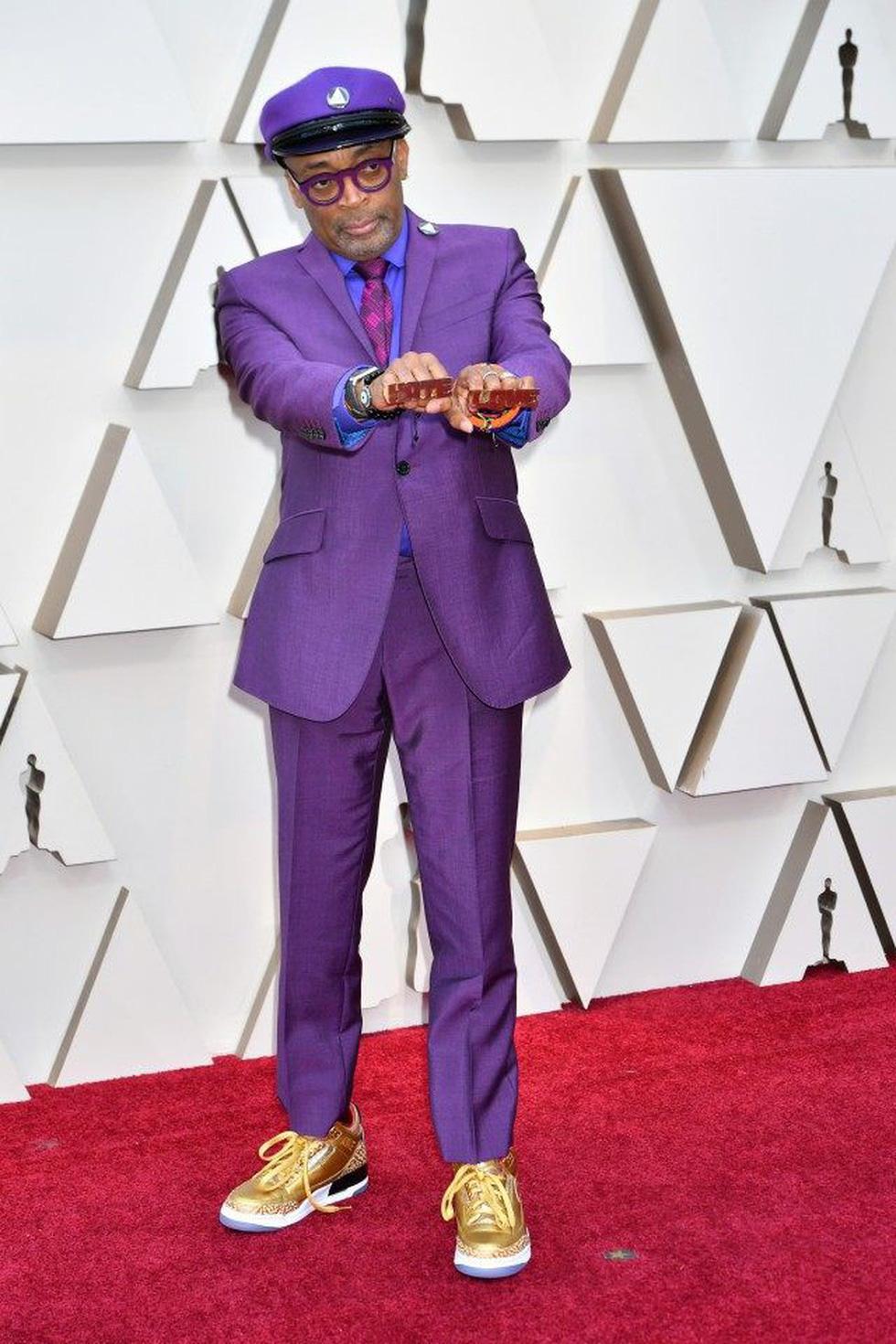 Dàn sao quậy tưng thảm đỏ Oscar 2019 như thế nào? - Ảnh 4.