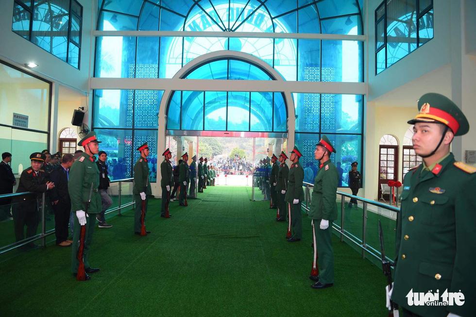 Ga Đồng Đăng sẵn sàng đón Chủ tịch Triều Tiên Kim Jong Un - Ảnh 2.