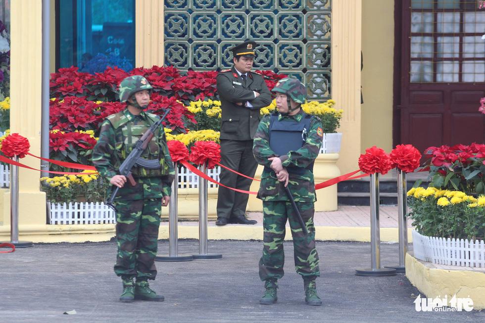 Ga Đồng Đăng sẵn sàng đón Chủ tịch Triều Tiên Kim Jong Un - Ảnh 9.