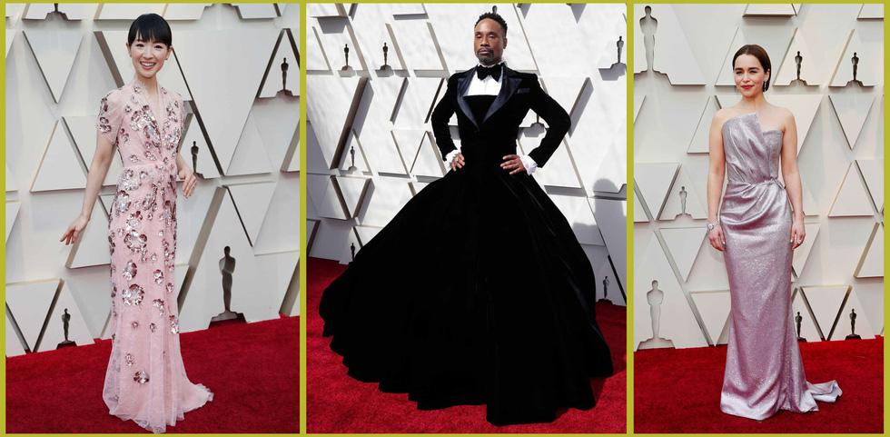 Lộng lẫy dàn sao Hollywood đổ về thảm đỏ Oscar lần thứ 91 - Ảnh 4.