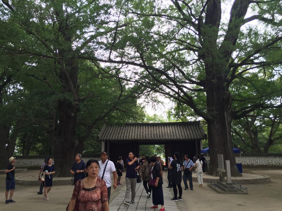 Phóng viên Tuổi Trẻ vãn cảnh chùa cổ ngàn năm ở Triều Tiên - Ảnh 2.