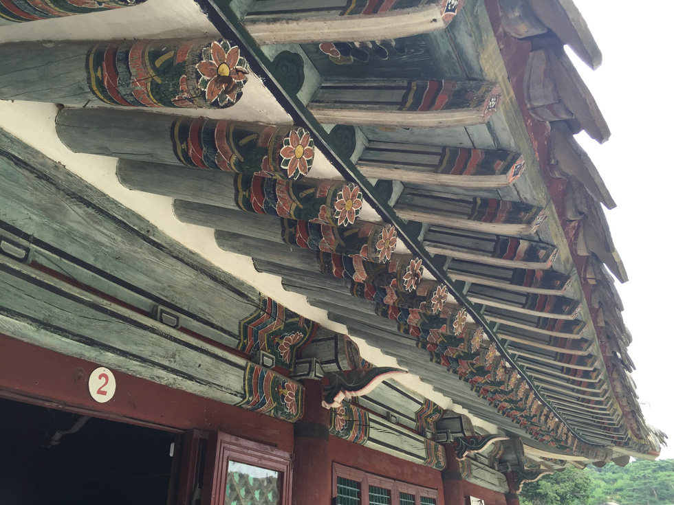 Phóng viên Tuổi Trẻ vãn cảnh chùa cổ ngàn năm ở Triều Tiên - Ảnh 14.