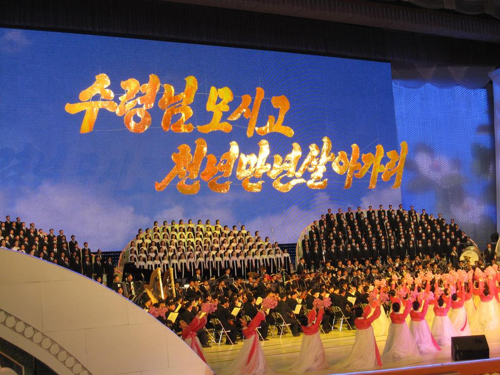 Choáng với chương trình nghệ thuật Triều Tiên 700 người như một - Ảnh 8.