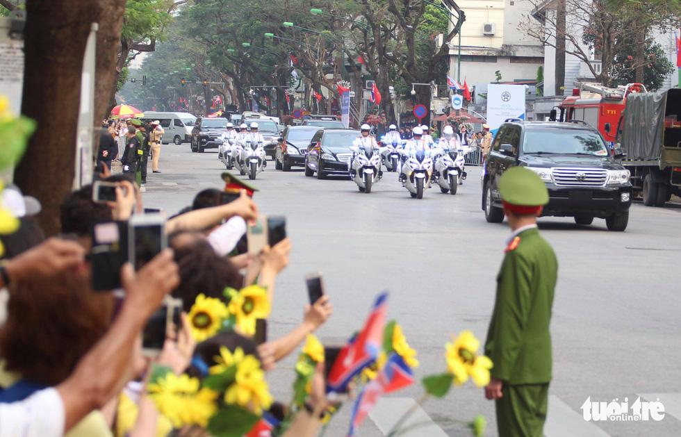 Tổng bí thư, Chủ tịch nước Nguyễn Phú Trọng hội đàm với Chủ tịch Kim Jong Un - Ảnh 10.