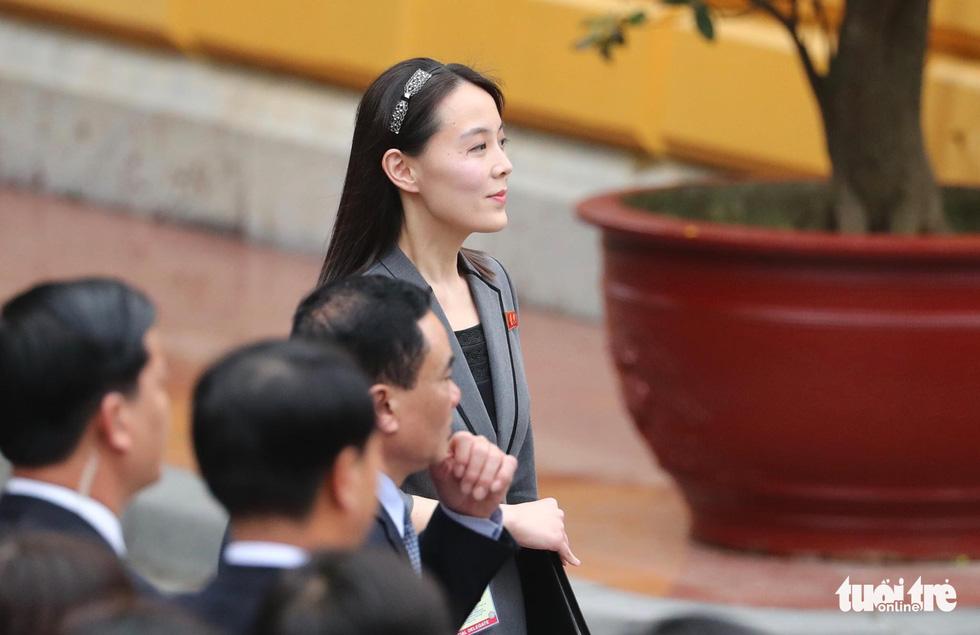 Tổng bí thư, Chủ tịch nước Nguyễn Phú Trọng hội đàm với Chủ tịch Kim Jong Un - Ảnh 9.