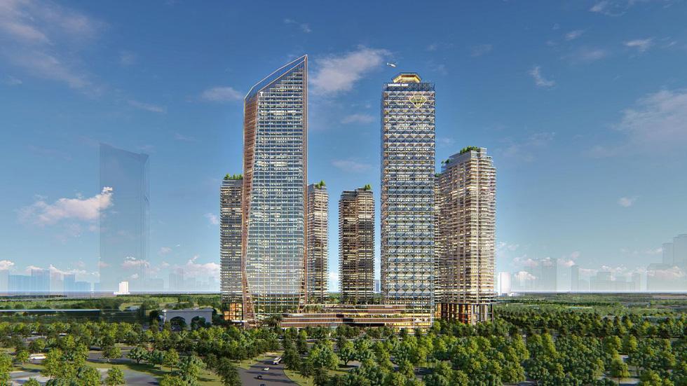 Hà Nội sắp có đại trung tâm thương mại quốc tế - Ảnh 1.