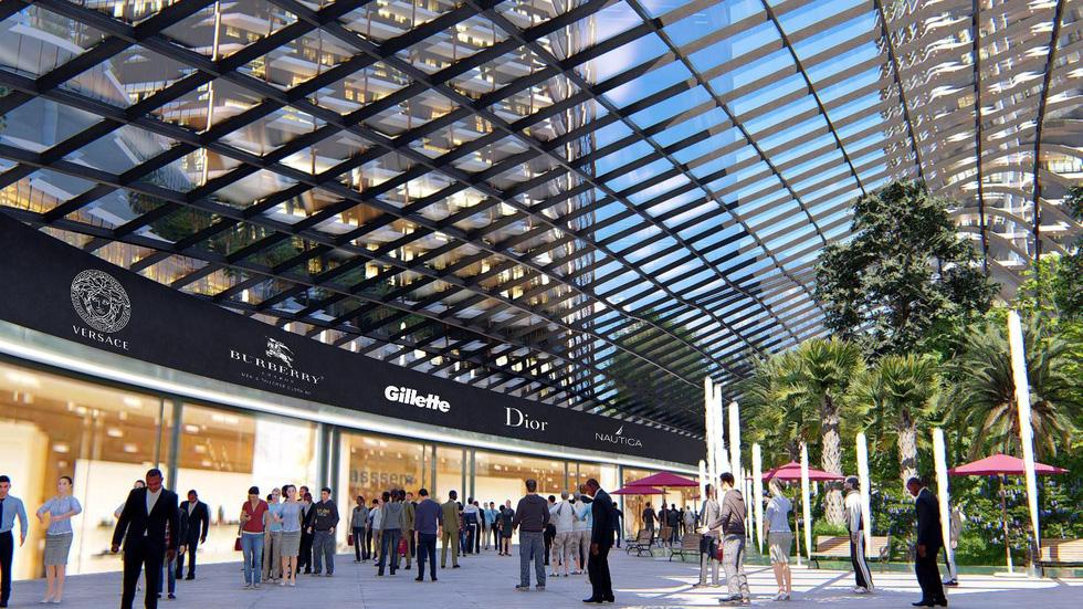 Hà Nội sắp có đại trung tâm thương mại quốc tế - Ảnh 3.