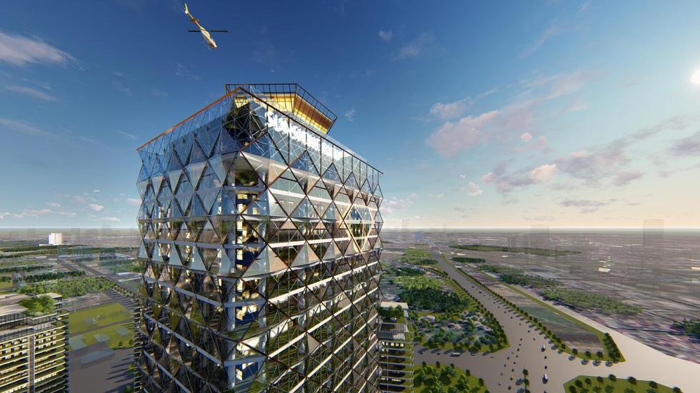 Hà Nội sắp có đại trung tâm thương mại quốc tế - Ảnh 5.
