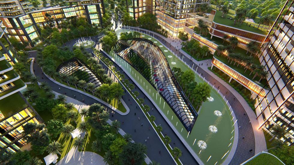 Hà Nội sắp có đại trung tâm thương mại quốc tế - Ảnh 7.