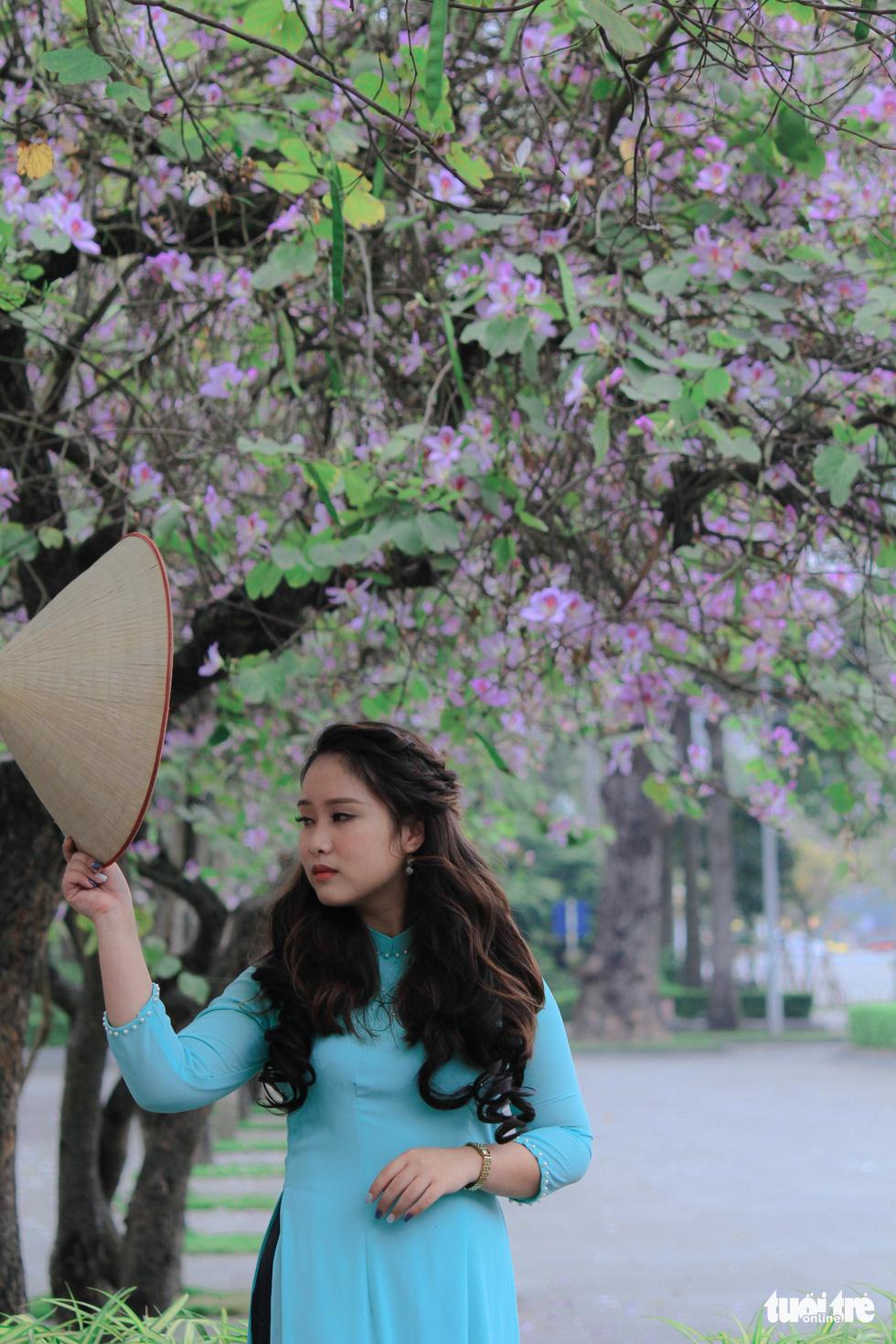Tháng 3 hoa ban tràn về Hà Nội - Ảnh 5.