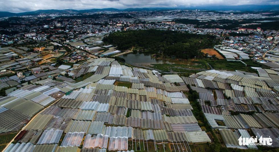 Đà Lạt nhìn từ flycam: thành phố bêtông chứ đâu phải thành phố trong rừng?  - Ảnh 9.