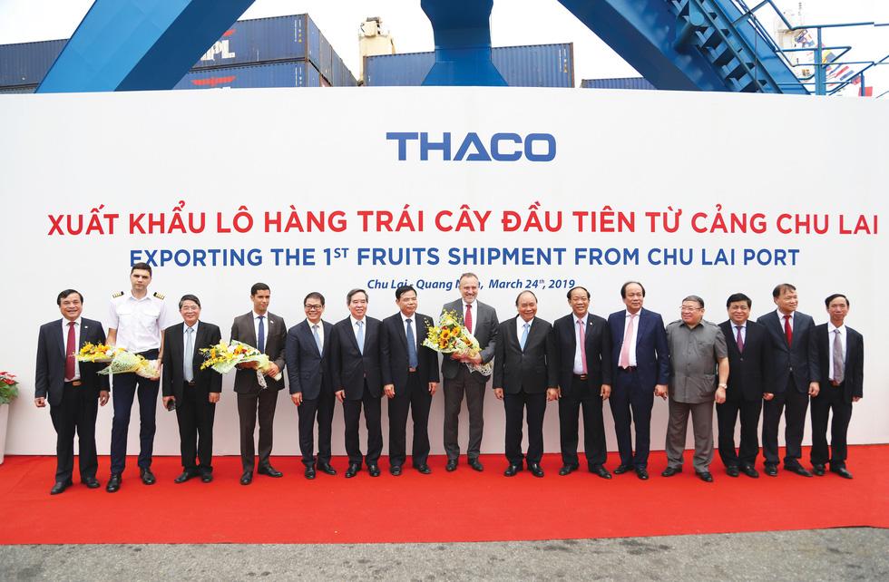 Thaco xây nền nông nghiệp công nghệ cao - Ảnh 1.