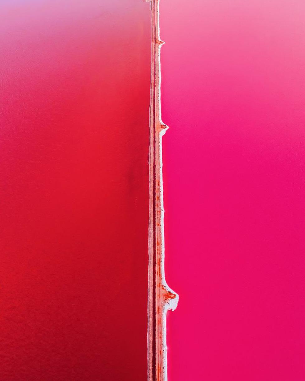 Kỳ lạ hồ nước màu hồng, đỏ, cam theo giờ - Ảnh 4.