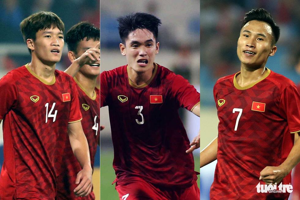 3 chàng tân ngự lâm quân U23 Hoàng Đức, Việt Hưng, Tấn Sinh - Ảnh 1.