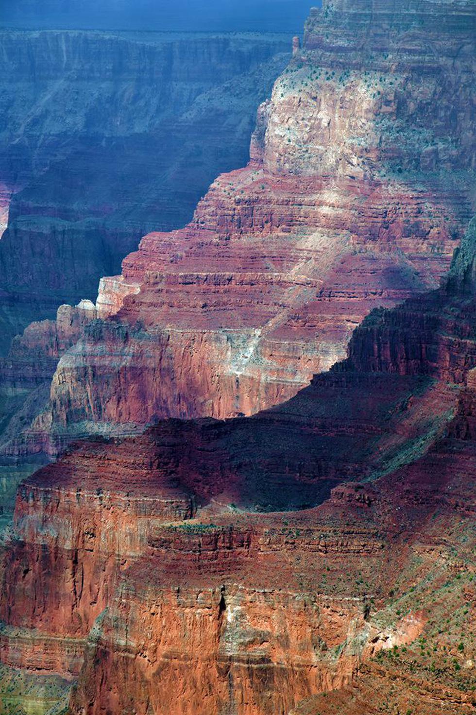 Kỳ quan Grand Canyon tráng lệ mùa tuyết rơi - Ảnh 9.