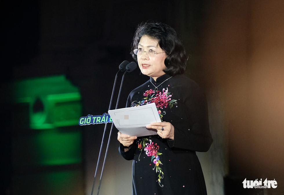 Phó chủ tịch nước Đặng Thị Ngọc Thịnh kêu gọi toàn dân tiết kiệm năng lượng - Ảnh 1.