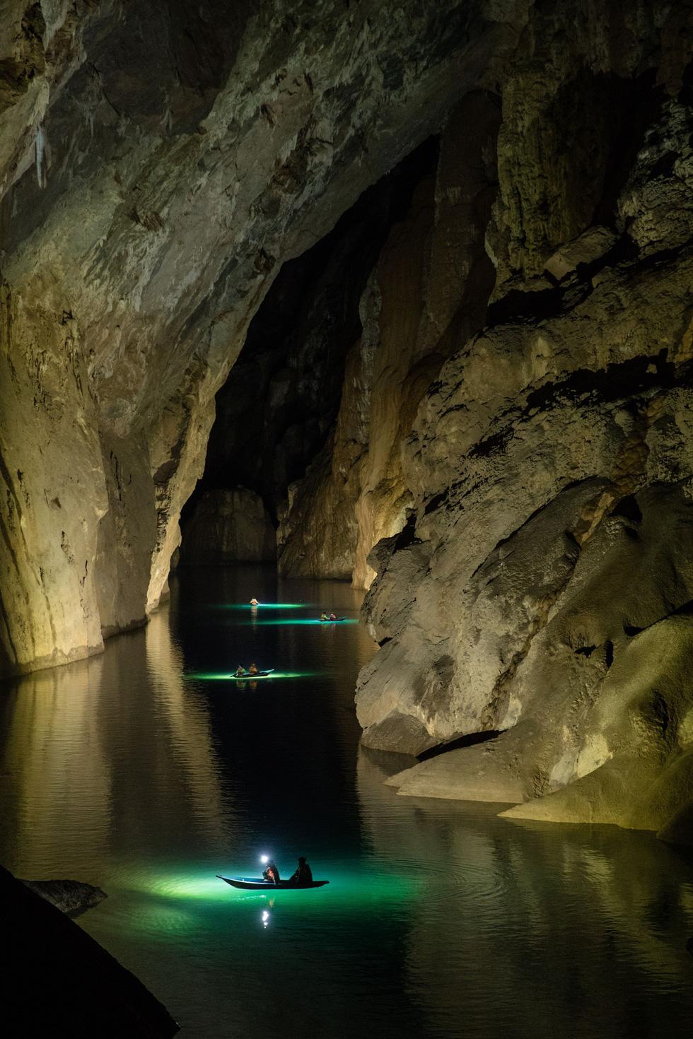 Lặn tìm con sông bỗng nhiên biến mất trong hang Sơn Đoòng - Ảnh 5.