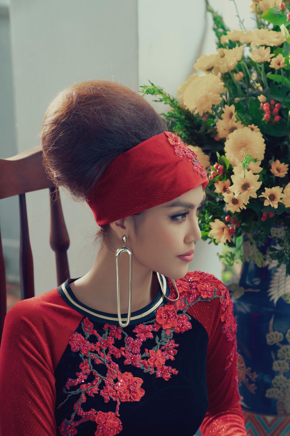 Lan Khuê, Thanh Hằng diện áo dài Nam Kỳ lục tỉnh - Ảnh 4.