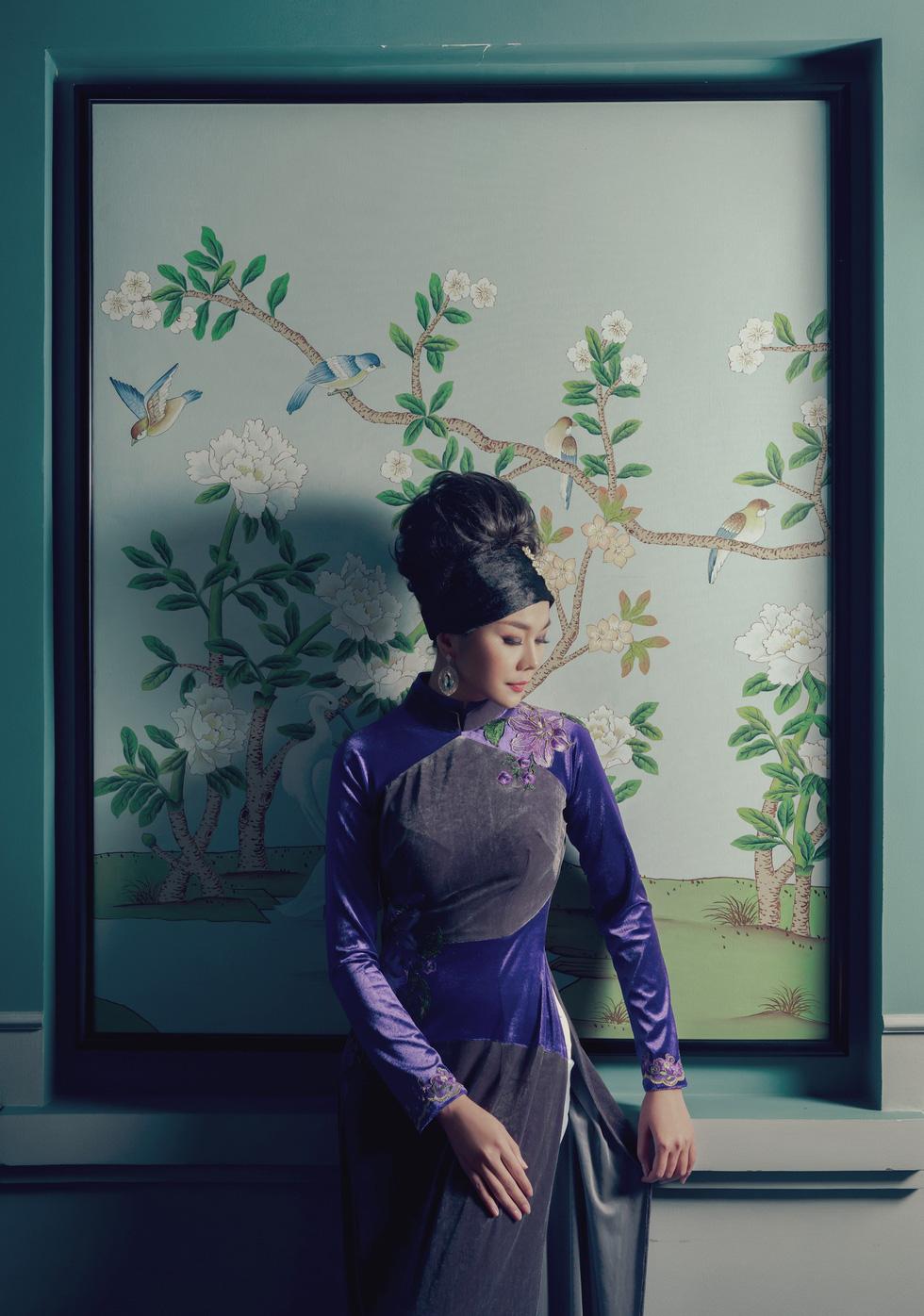 Lan Khuê, Thanh Hằng diện áo dài Nam Kỳ lục tỉnh - Ảnh 8.