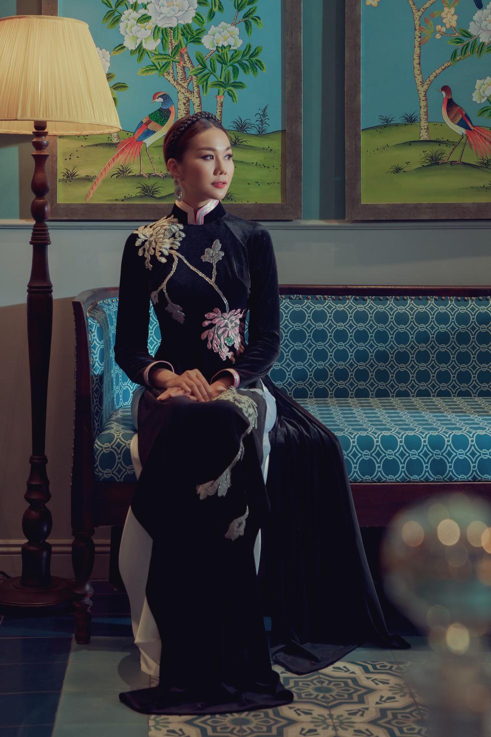 Lan Khuê, Thanh Hằng diện áo dài Nam Kỳ lục tỉnh - Ảnh 3.