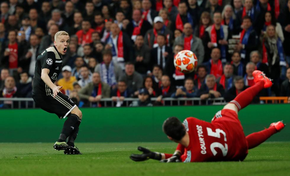 Chùm ảnh Real Madrid thảm bại trước Ajax - Ảnh 4.