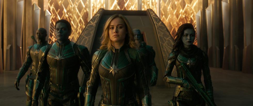 Xem Captain Marvel: phái đẹp gánh cả thế giới trên vai - Ảnh 9.