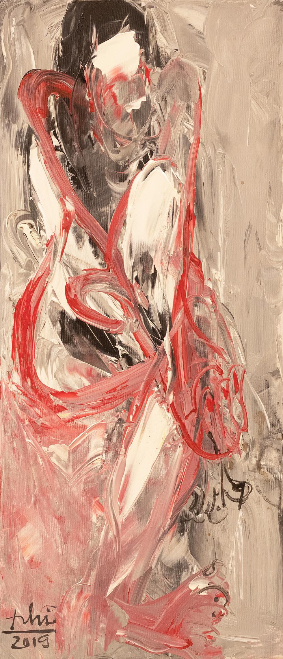 Lần đầu tiên dự án nghệ thuật khép kín: triển lãm nude Trang - Ảnh 6.