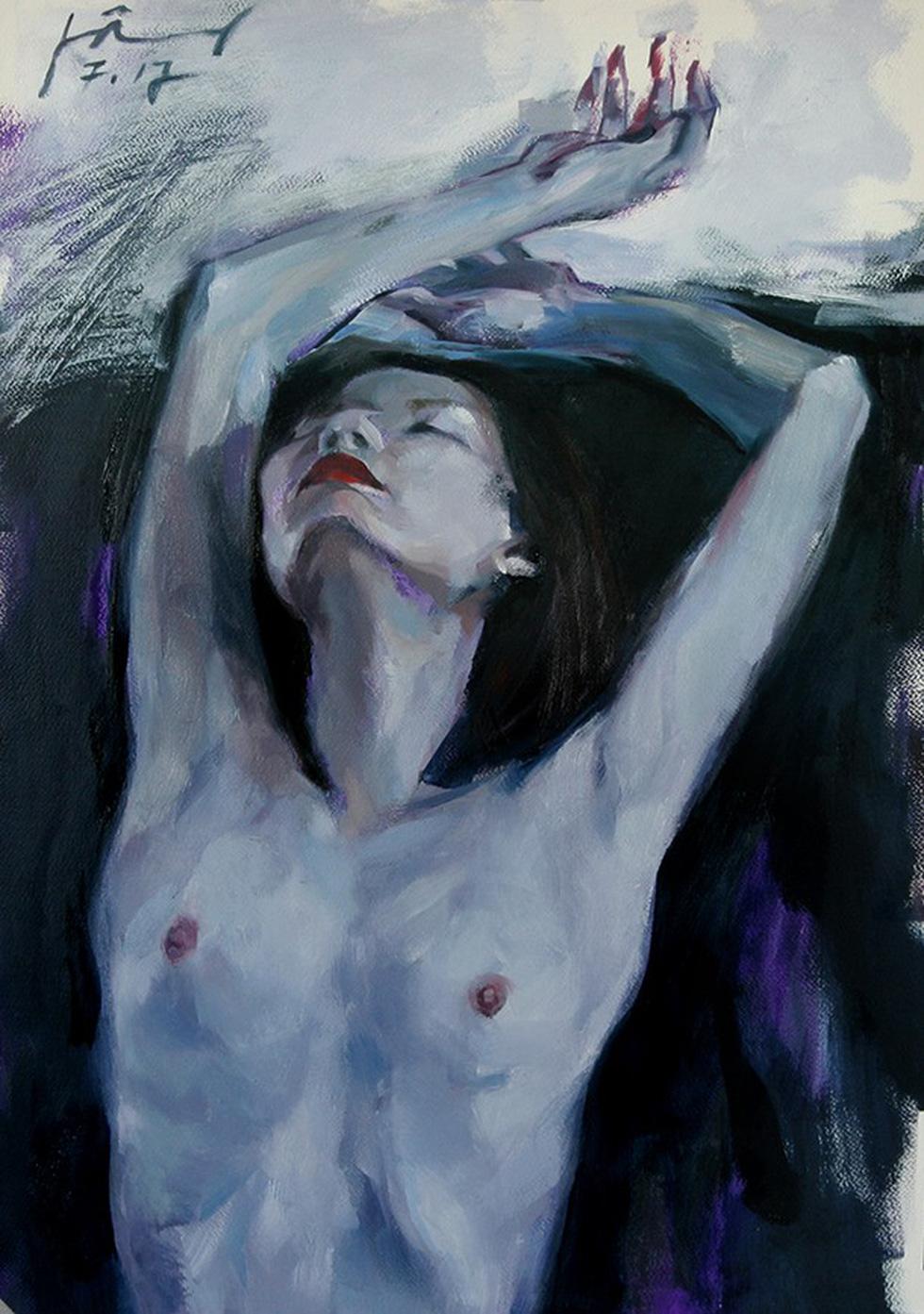 Lần đầu tiên dự án nghệ thuật khép kín: triển lãm nude Trang - Ảnh 5.