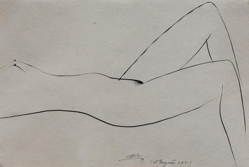 Lần đầu tiên dự án nghệ thuật khép kín: triển lãm nude Trang - Ảnh 2.