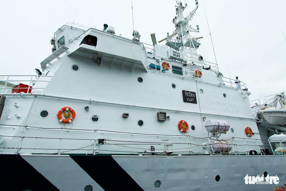 Tàu VIJIT thuộc Lực lượng bảo vệ bờ biển Ấn Độ thăm Đà Nẵng - Ảnh 3.
