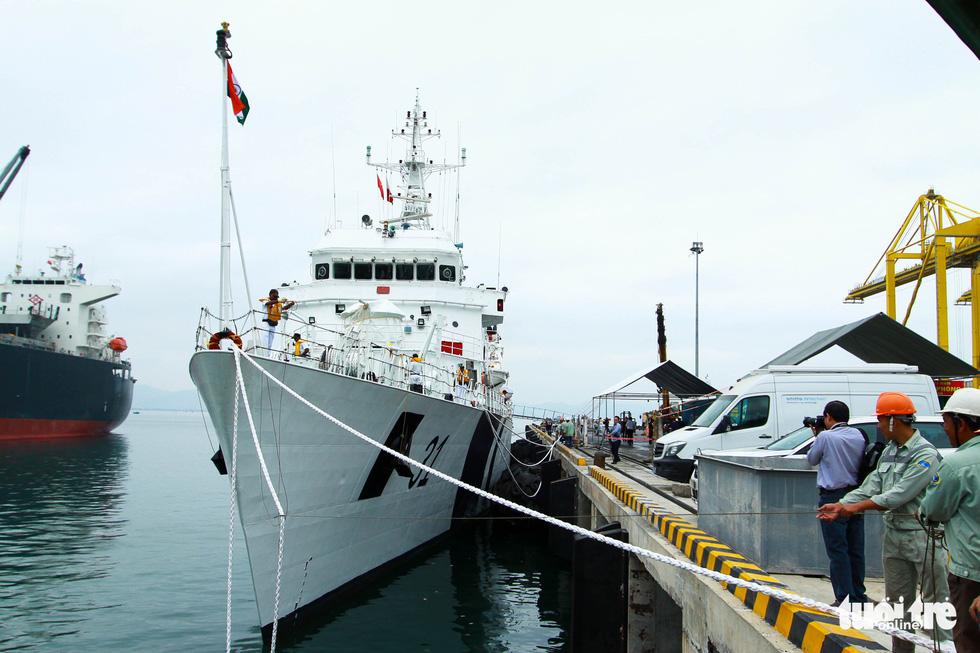Tàu VIJIT thuộc Lực lượng bảo vệ bờ biển Ấn Độ thăm Đà Nẵng - Ảnh 1.