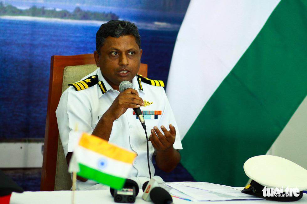 Tàu VIJIT thuộc Lực lượng bảo vệ bờ biển Ấn Độ thăm Đà Nẵng - Ảnh 7.
