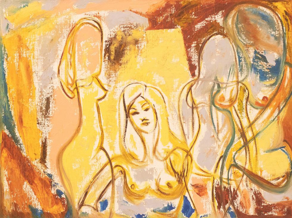 Lần đầu tiên dự án nghệ thuật khép kín: triển lãm nude Trang - Ảnh 1.