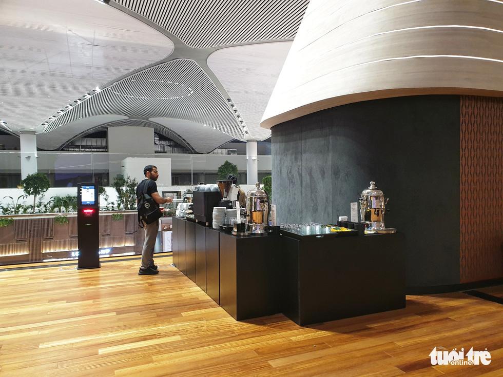 Phòng lounge rộng 5.600m2 trong siêu sân bay 12 tỉ USD của Thổ Nhĩ Kỳ - Ảnh 6.
