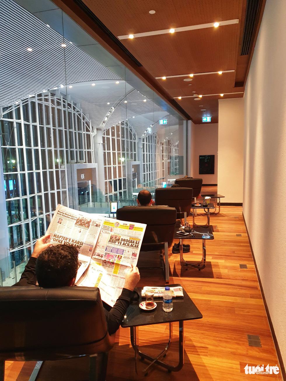 Phòng lounge rộng 5.600m2 trong siêu sân bay 12 tỉ USD của Thổ Nhĩ Kỳ - Ảnh 12.