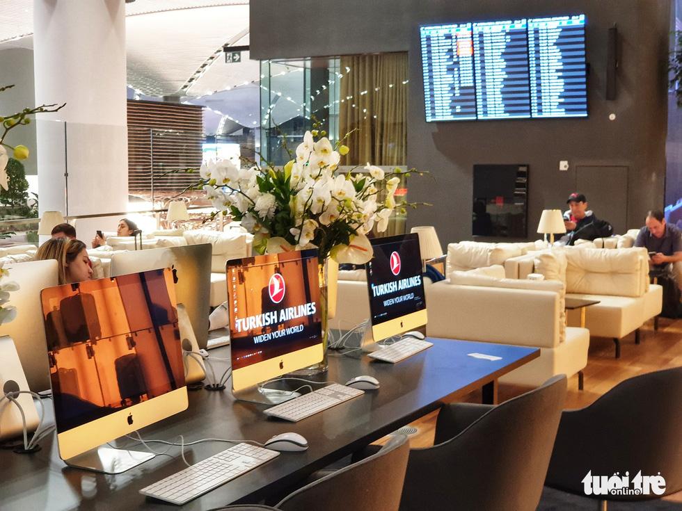 Phòng lounge rộng 5.600m2 trong siêu sân bay 12 tỉ USD của Thổ Nhĩ Kỳ - Ảnh 8.