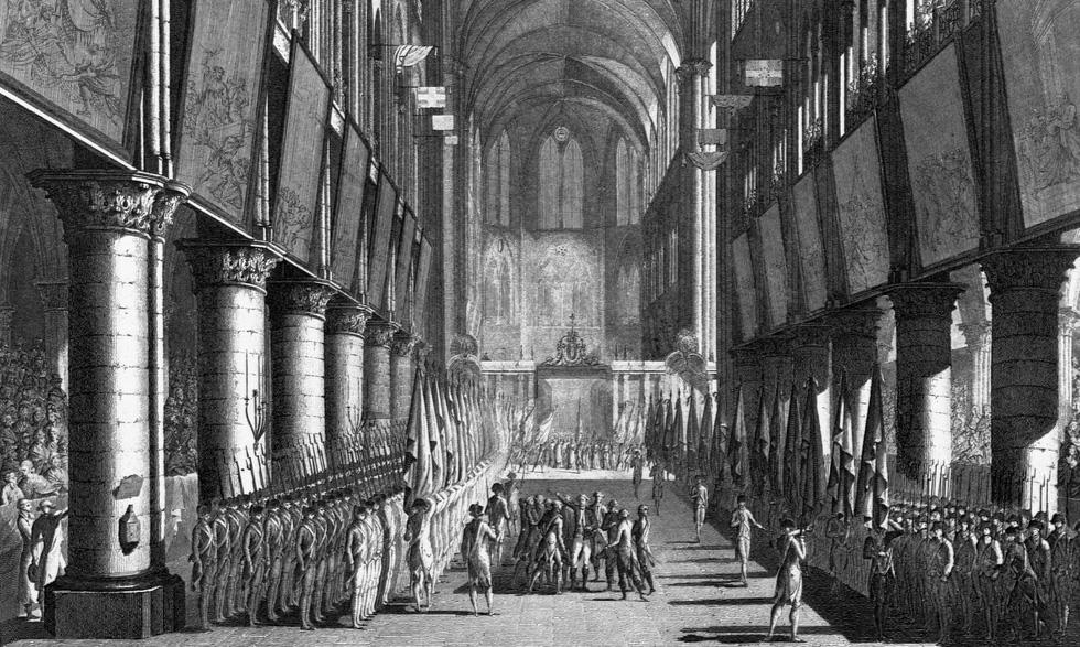 Nhìn lại Nhà thờ Đức Bà Paris qua các thời kỳ lịch sử - Ảnh 4.
