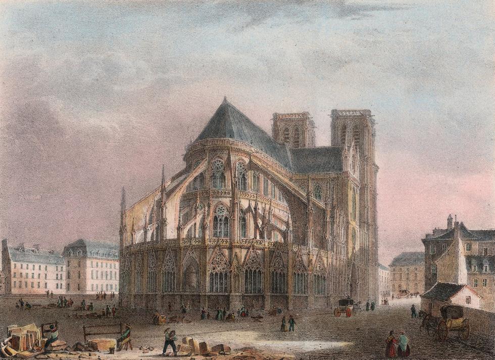 Nhìn lại Nhà thờ Đức Bà Paris qua các thời kỳ lịch sử - Ảnh 6.