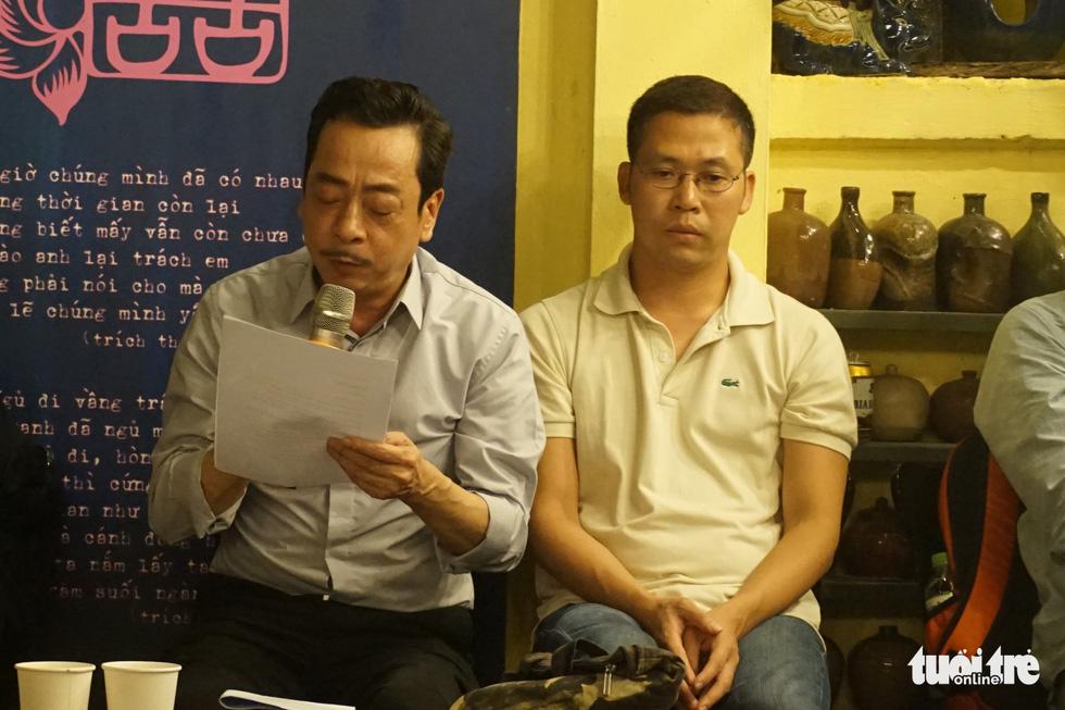 Hơn 350 người đọc Mây trắng của đời tôi mừng sinh nhật Lưu Quang Vũ - Ảnh 7.