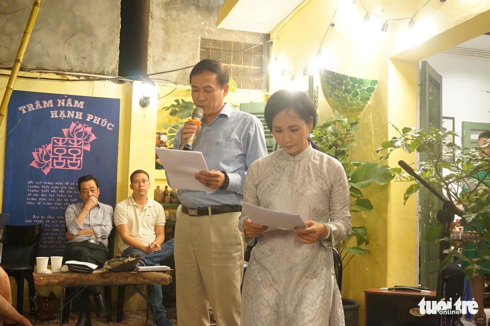 Hơn 350 người đọc Mây trắng của đời tôi mừng sinh nhật Lưu Quang Vũ - Ảnh 4.