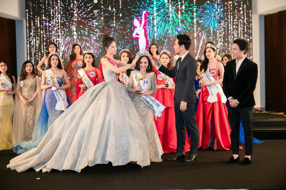 Trần Vũ Hương Trà đăng quang Hoa hậu thế giới người Việt tại Pháp 2019 - Ảnh 2.