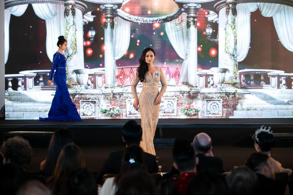 Trần Vũ Hương Trà đăng quang Hoa hậu thế giới người Việt tại Pháp 2019 - Ảnh 3.