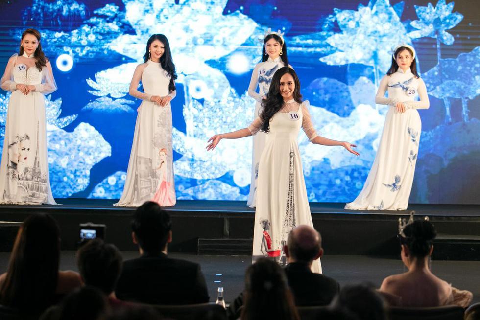 Trần Vũ Hương Trà đăng quang Hoa hậu thế giới người Việt tại Pháp 2019 - Ảnh 4.